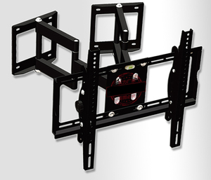 "Image 3 - 32 65 ""Heavy Duty Wand Ecke LED LCD TV Halterung Flexible Full Motion TV Schaukel Arm Halterung Decke montieren Last 100kgs EMP522MT"