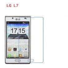3 PCS HD telefone filme PE toque preservar a visão para LG L7 protetor de tela P700 P705 com Limpar