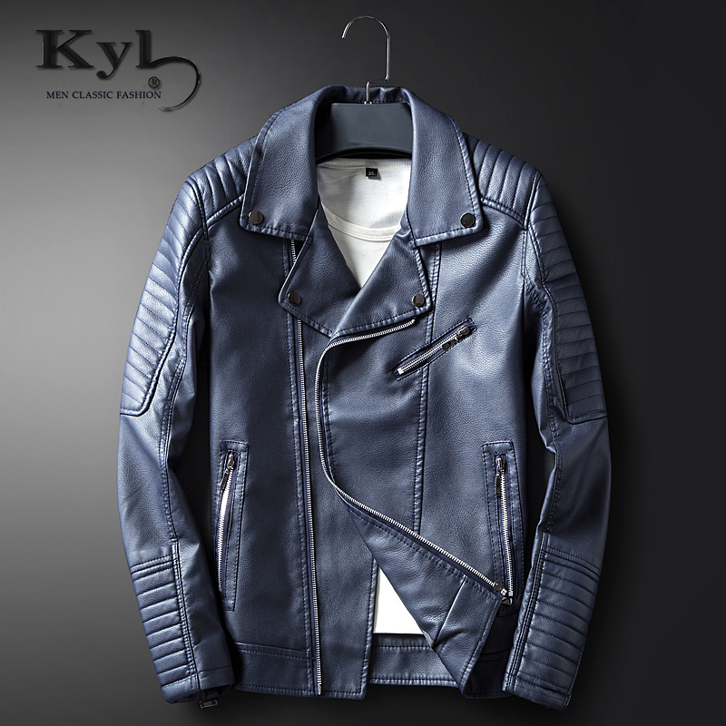 Winter PU Leather Casual Jackets Men Thermal Coats Male Motorcycle Faux Leather Jackets 2017 Warm Brand Outwear Clothing Full