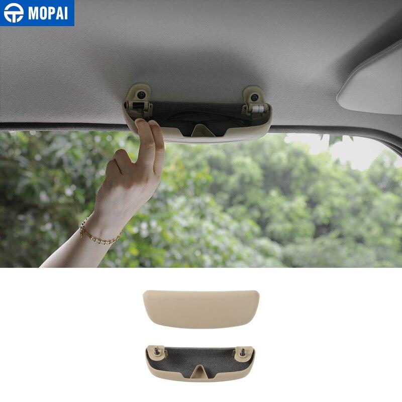 MOPAI ABS Car font b Interior b font Eye Sunglasses Glasses Case Storage Box Holder for