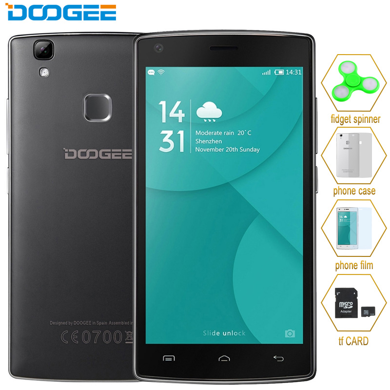 DOOGEE X5 MAX Pro 16GB 2GB LTE 4G 5 0 Android 6 0 MTK6737 Quad Core