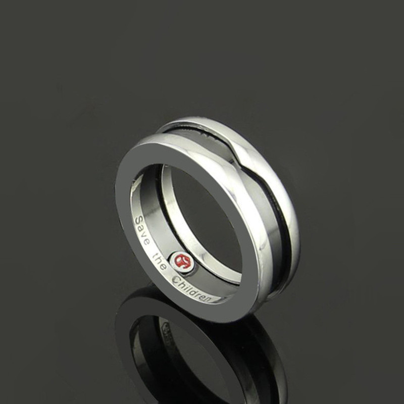 New Arrival High Quality Fashion Rings for Women Jewelry Statement Titanium Steel Ring Men Ringfrau des Mannes R19