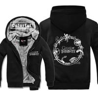 High Q Unisex Game Of Thrones House Targaryen Hoodies Jacket A Song Of Ice And Fire