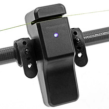 Houkiper Рыбалка сигнализатор поклевки электронный свет индикаторный звонок Подвеска для удочки укусы сигнализации рыболокатор линия буфера оповещения кемпинг