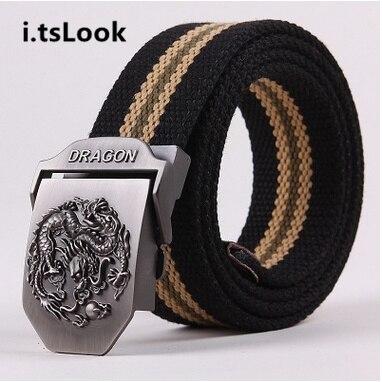 Hombres cinturón táctico lienzo cintos cintura Correa tácticas REM jeans cinturones  para hombres lona hebilla cinturón regalos militares BF 200 en Los ... ca75d08bb611