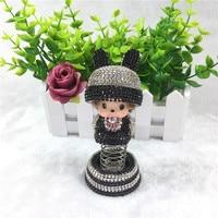 New Pattern Spring Kiki Rabbit Hat Car Perfume Seat Air Freshener Instrument Panel Decorations Car Styling