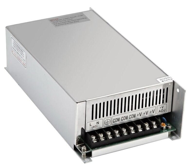 Alimentation à découpage professionnelle 600 W 12 V 50A fabricant 600 W 12 v transformateur d'alimentation