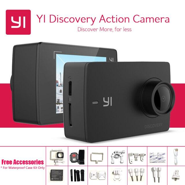 Internationale YI Discovery Actie Camera Geïnterpoleerd 4 K 20fps 8MP 16MP Waterdichte WIFI 1080 P 60fps Touch Screen Sport Camera