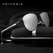VEITHDIA Brand Designer Fashion Men's Sunglasses Polarized M