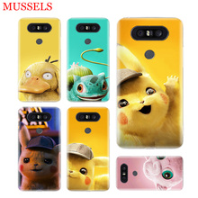 Pikachue Movie Unique Phone Case For LG V40 G6 G7 Q6 Q8 Q7 G5 G4 V30 V20 V10 K8 K10 2018 2017 Patterned Customized Cases Coque