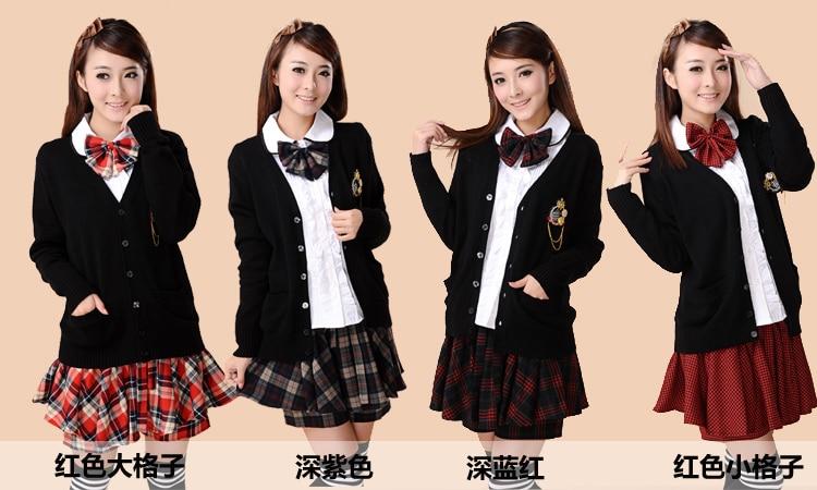 Autumn and winter korean academy women 39 s japanese for Womens school uniform shirts