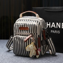 2017 NEW arrival Fashion Mother Bag Baby Nappy Bags Maternity Mummy Diaper Bag Cotton3 color Flower Style fast drop shipping