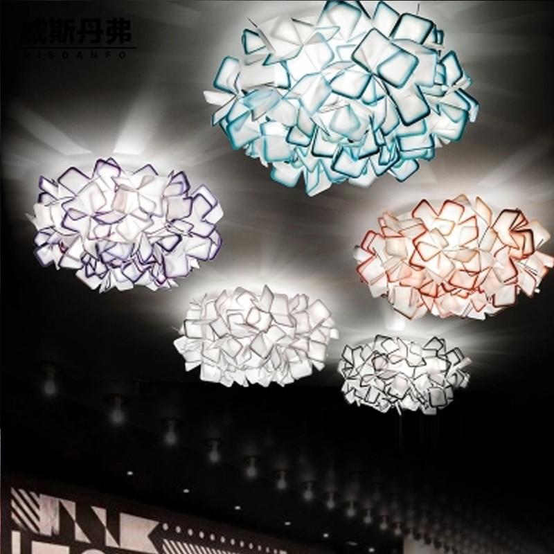 Dia 53cm Clizia L& Acrylic petal Pendant L&s lights Ac90 260v Bedroom Cozy Cafe Clothing Store Bar Lighting fixtures -in Pendant Lights from Lights ... & Dia 53cm Clizia Lamp Acrylic petal Pendant Lamps lights Ac90 260v ... azcodes.com