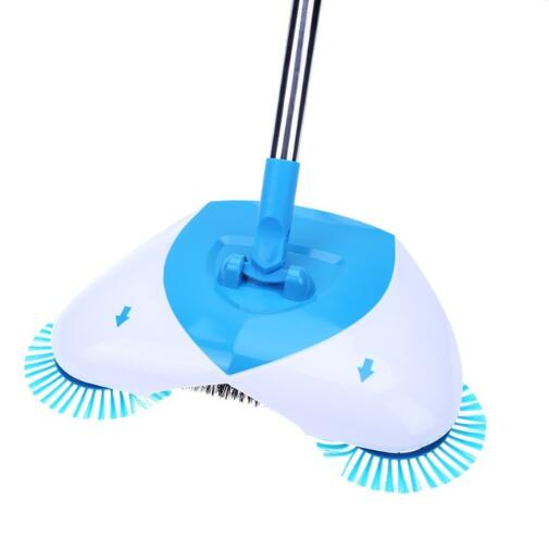 Non Electric Automatic Hand Push Sweeper Broom with Dustpan Cleaning Machine Mop Home Cleaning Machine Supplies
