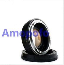 Amopofo fd-nex adaptador reforço velocidade redutor focal para canon fd montagem lente para sony nex nex-3 nex-7 nex-5n nex-c3 nex-f3 NE