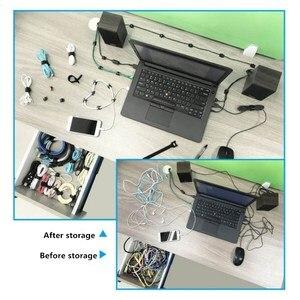 Image 5 - KEITHNICO 100 Pcs Reusable Buộc Các Quan Hệ Cáp 12x200mm Sợi Nhỏ Vải Móc và Vòng Lặp Dây Quản Lý Dây Tổ Chức dây đeo