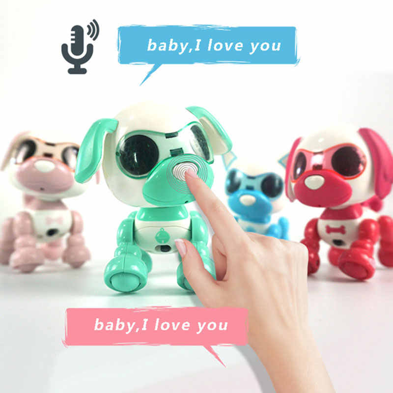 Detail Feedback Questions about Dog Robot Toy Cute Smart Pet