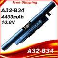 A41-B34 A32-B34 A31-C15 Pil Haier için S500 Medion S4209 S4211 S4216 S4611 k560 K56L K5 Tongfang Ruirui V550 6 Hücreleri