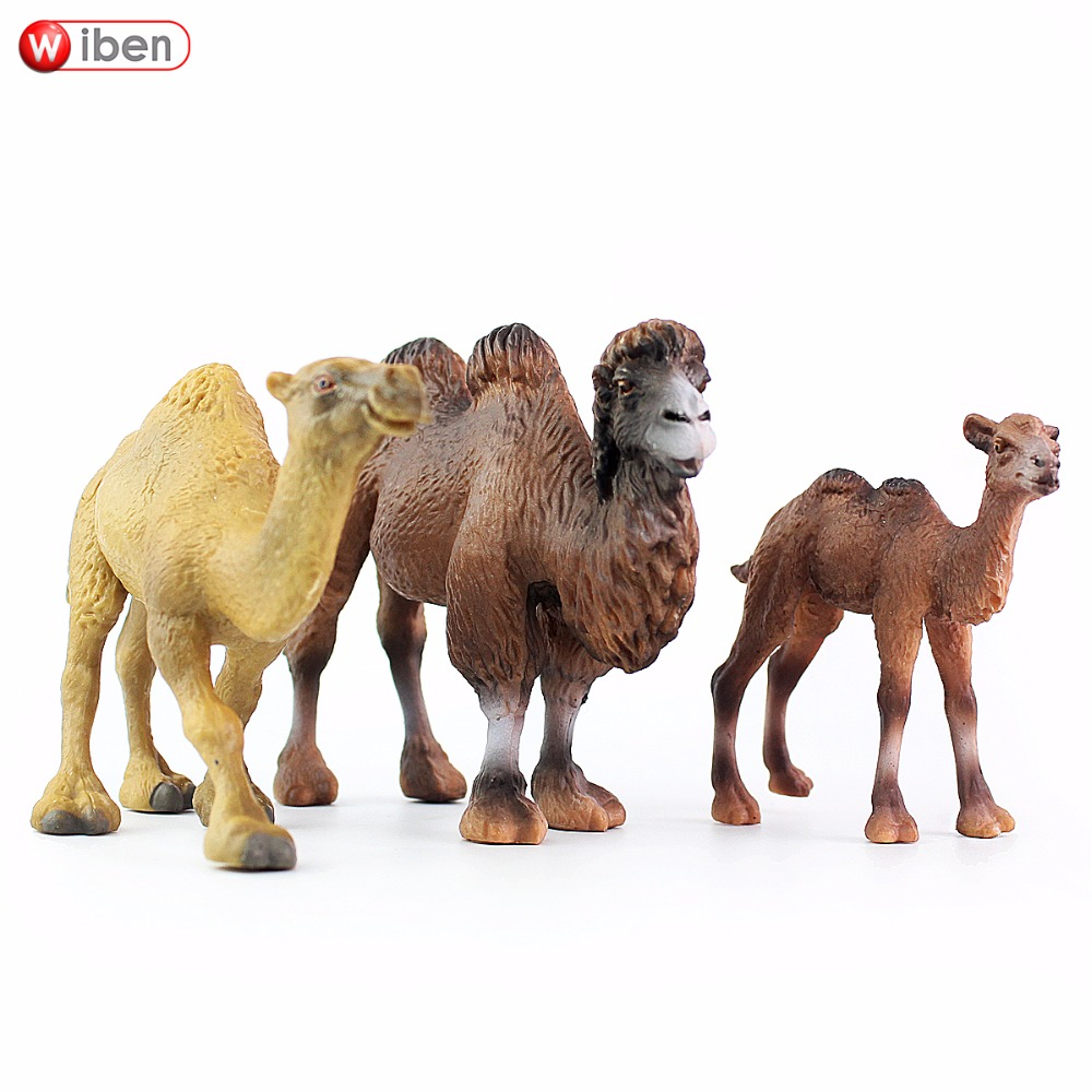 Wiben Camel Safari Wild Safari Wildlife Dromedary Model Collection for Children Kids Toy Birthday Gifts vintage suitcase 20 26 pu leather travel suitcase scratch resistant rolling luggage bags suitcase with tsa lock