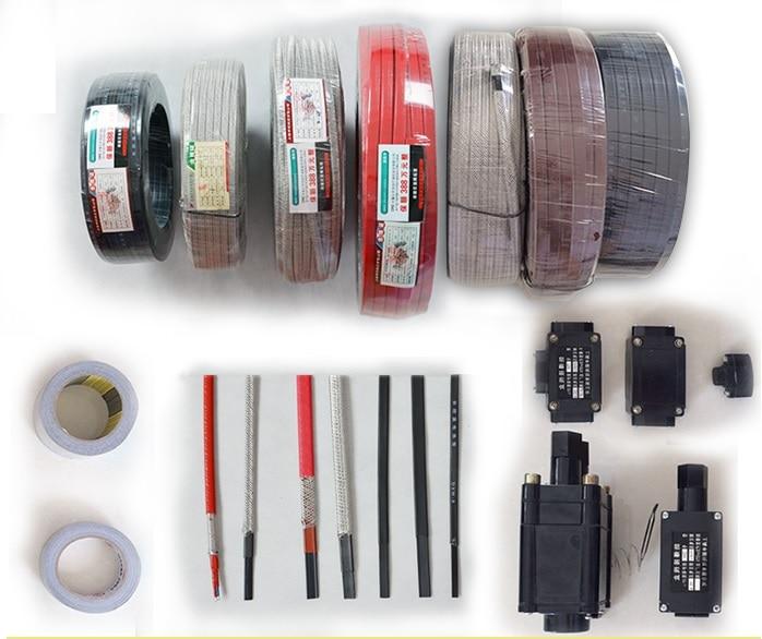 24 В Силиконовой резины нагревательной ленты с регулируемой Регулятор термостата, 12 мм широкий плоский кабель, 12 м/рулон пришел с термостатом