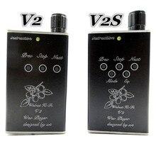 Новый DIY орех V2 V2S MP3 Lossless музыка MP3 HiFi плеера Поддержка 32 ГБ TF карты расширения и Поддержка Усилители для наушников