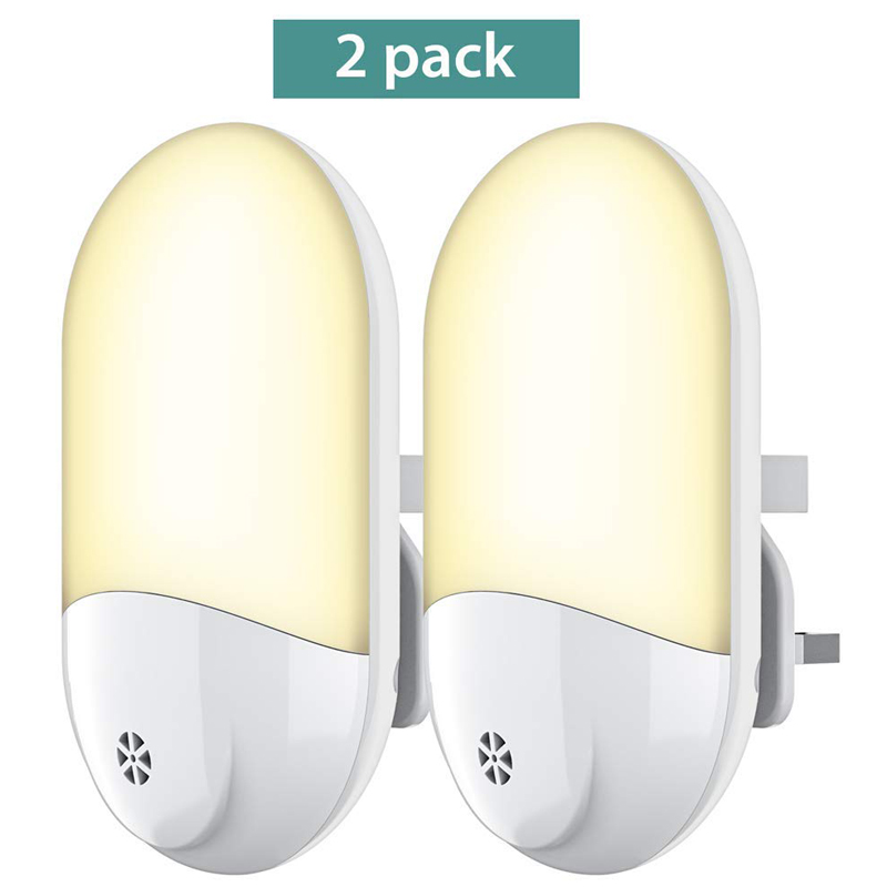 Plug In Led Night Light Plug And Play Automatic Dusk To