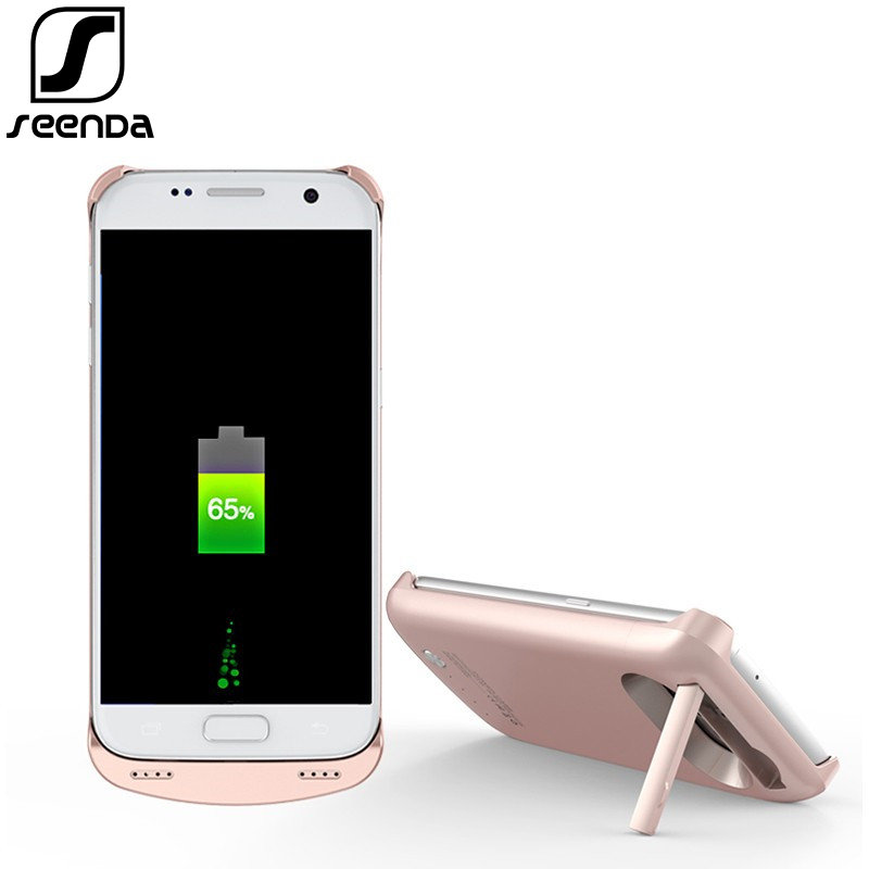 SeenDa Battery Charger Case For Samsung S7 4200 mAh Power Bank Phone Case For Samsung S7 Case With Power bank Charging Case