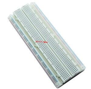 Image 2 - 10 Uds placa 830 punto PCB Junta MB 102 MB102 desarrollo de test, kit de bricolaje, nodemcu raspberri pi 2 lcd de alta frecuencia