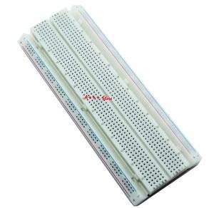 Image 2 - 10 sztuk Breadboard 830 punkt płytka drukowana MB 102 MB102 Test opracowanie DIY zestaw nodemcu raspberri pi 2 lcd wysokiej częstotliwości