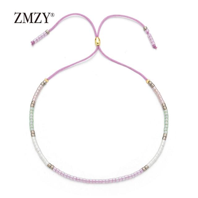 ZMZY Boho Style Miyuki Delica Seed Beads Bracelets for Women Friendship Bracelet Jewelry Colorful Charm Bracelet Femme Handmade 6