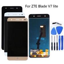 """5,0 """"für ZTE Klinge V7 Lite LCD Display + Touch Screen digitizer komponente ersatz für ZTE Blade V6 plus display Reparatur kit"""