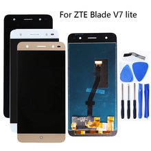 5.0 for ZTE Blade V7 Lite LCD Display + Touch Screen digitizer component replacement for ZTE Blade V6 plus Display Repair kit for zte blade a520 lcd display touch screen mobile phone lcd display for zte blade a520 repair kit free too