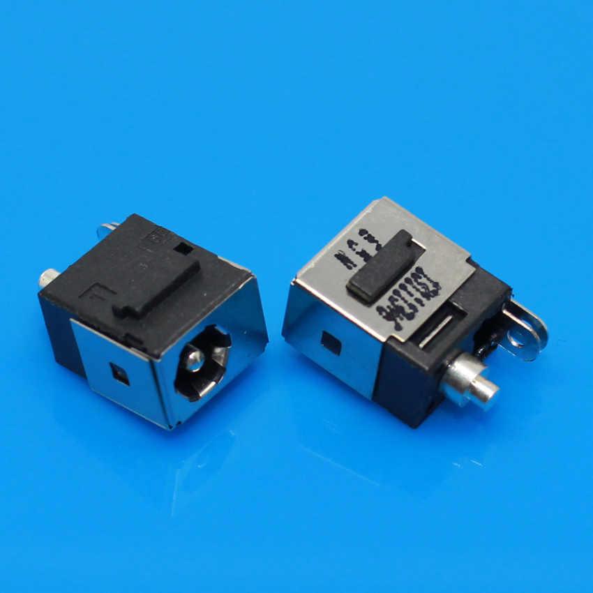 1X DC Güç jack konnektörü DELL Mini 9 10 11 12 910 1010 1210 Için DV5000 C300 V5000 DV8000 DC JACK, pin = 1.65mm