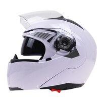 Double Lens Motorcycle Helmet Top Quality Flip Up Helmet Free Shipping