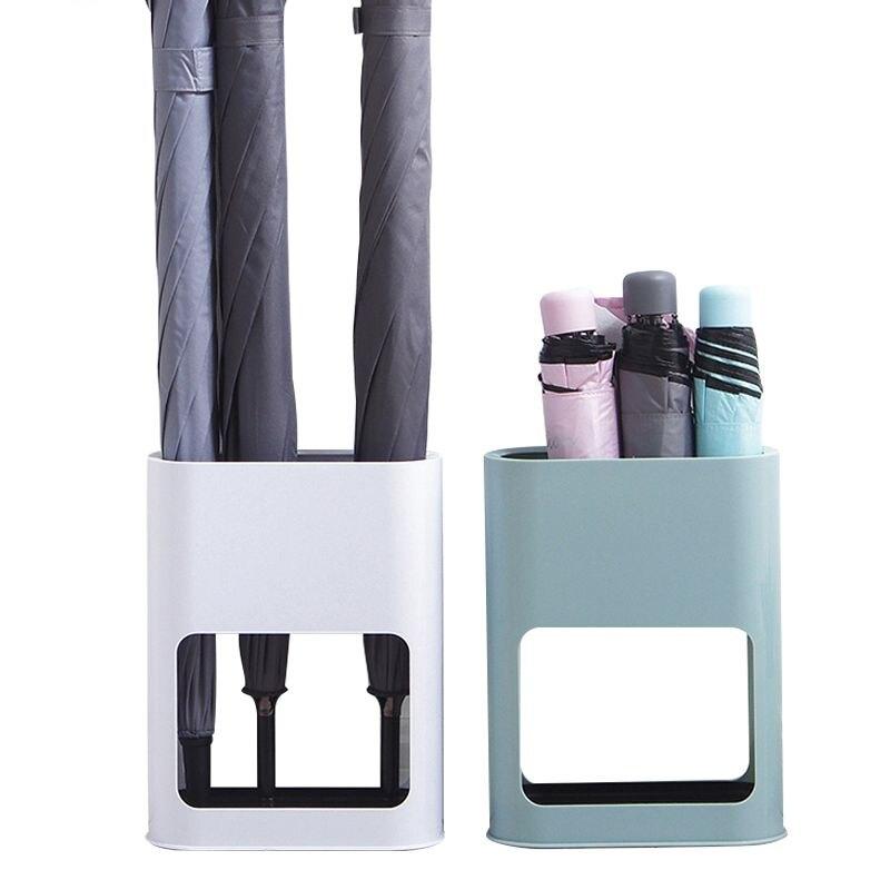 HOT Home Oval Umbrella Stand Rack Umbrella Draining Can Holder 4 pcs Umbrellas