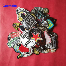 5pcs iron on cartoon patches for clothing embroidery applique clothes small sewing embroidered patch