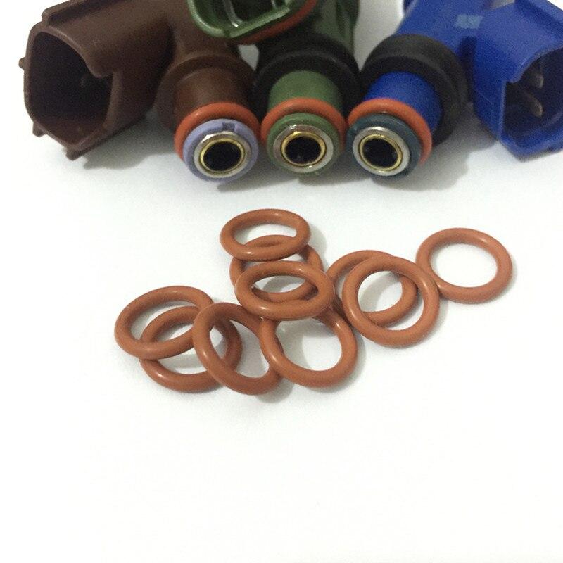 50 Stks Hoge Kwaliteit Viton Oring Match E85 Benzine Alle Brandstof Fit Voor Alle Toyota Denso Japanse Injector