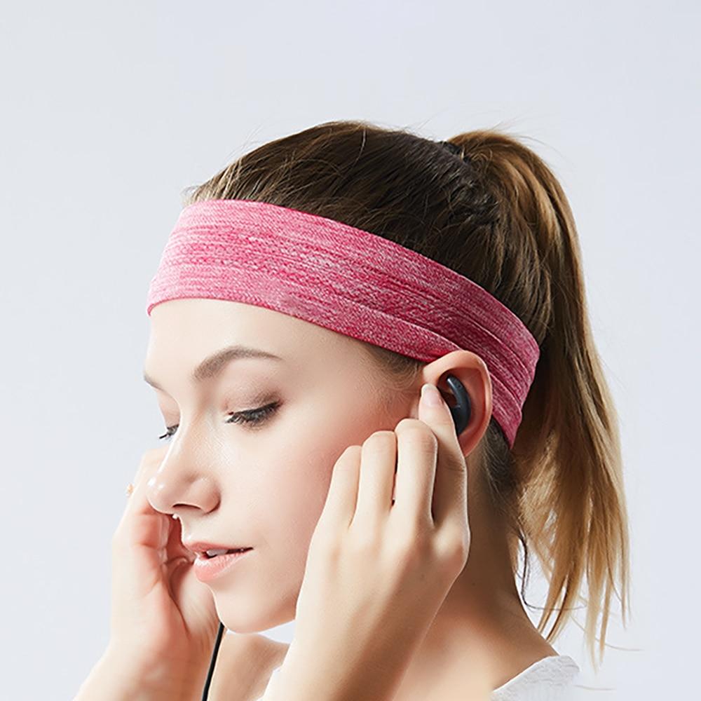 "NEW 2/"" Super Soft Camo Pink Blue Black Band Head Sports Sweat Headband Stretch"