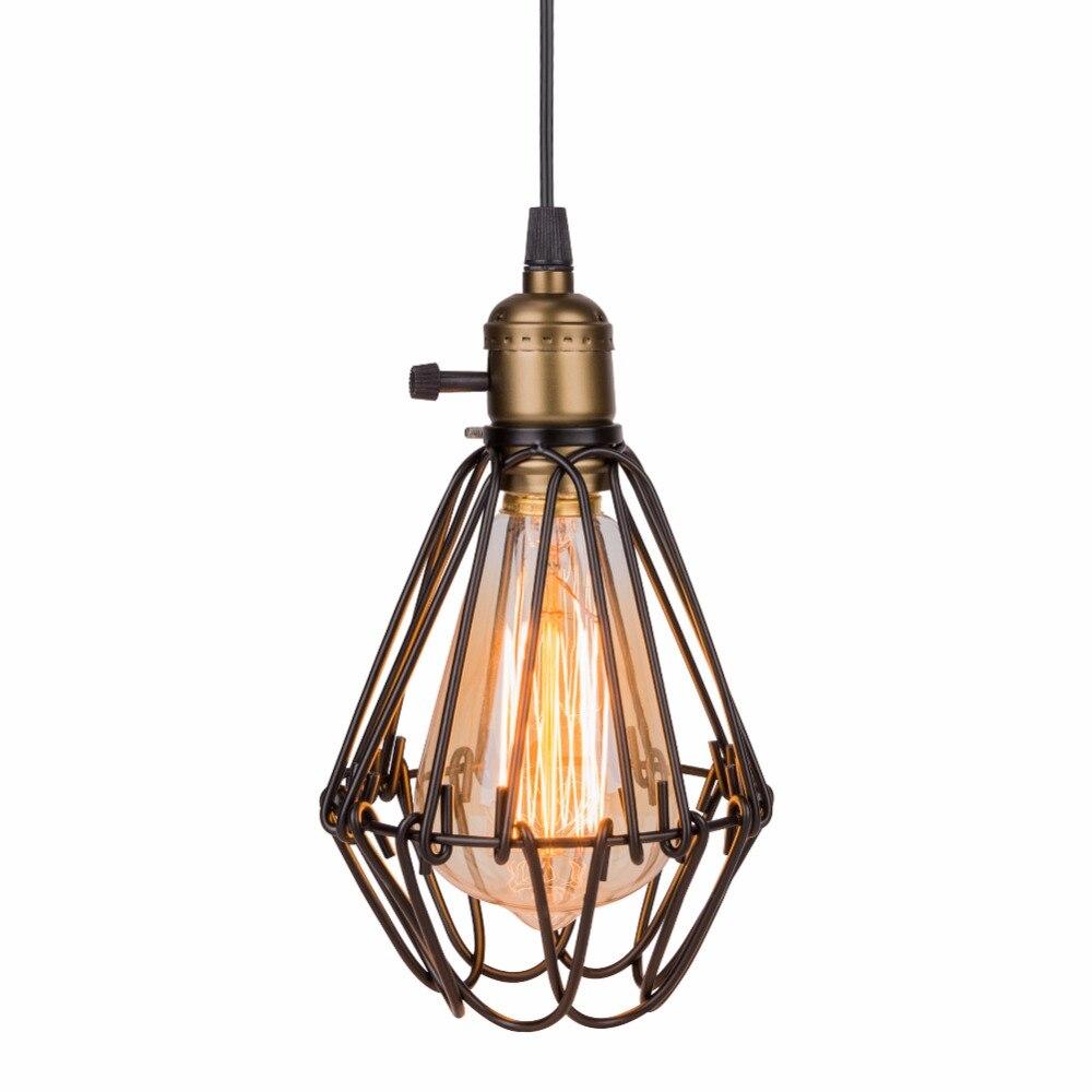 Schon Lampe Licht Klassische Loft Rustikalen Vogelkäfig Pendelleuchte  Pendelleuchte Vintage Vogelkäfig Lampe Für Restaurant Schlafzimmer  Dekoration