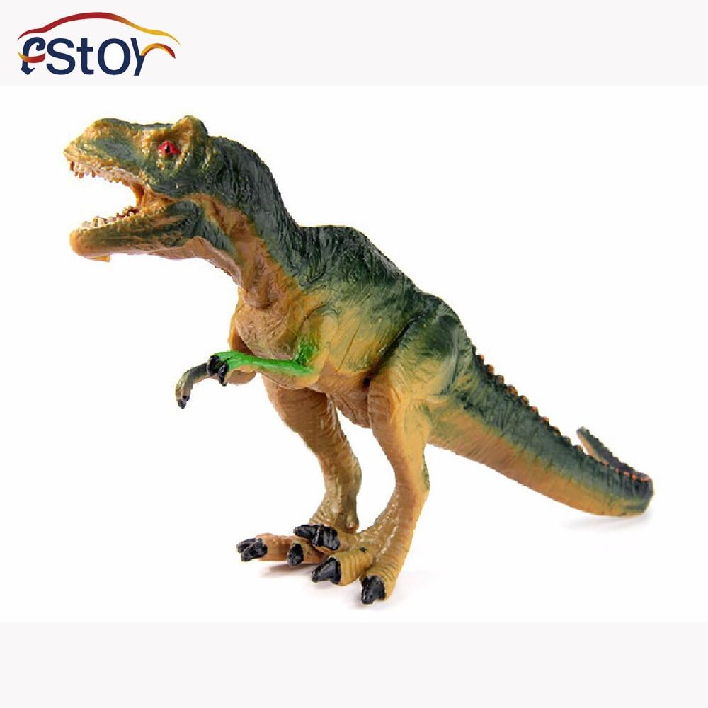 Toy Figures For Boys : Yrannosaurus dinosaur action figures model wild animal pvc