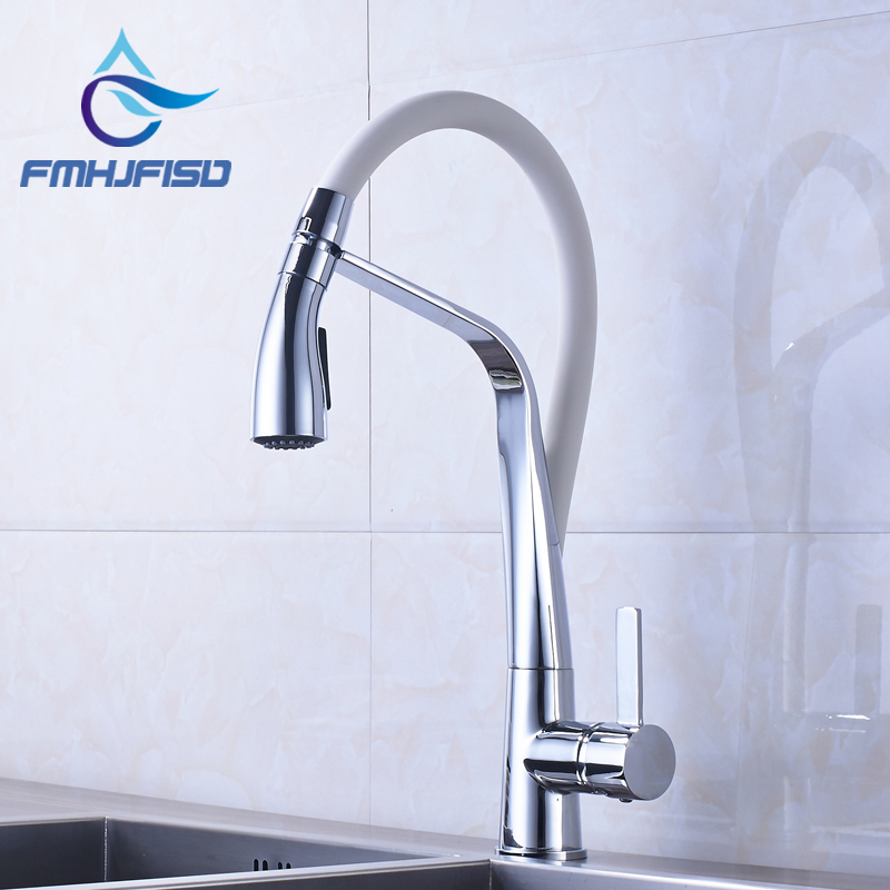 Promotion Kitchen Sink Faucet Chrome Finish with Hot and Cold Water Single Handle Single Hole recruitment and promotion