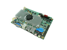 Fan Atom D525 1.86Ghz Firewall 3.5inch Slim motherboard 2 Gigabit Lan Server PC