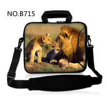 Lions Neoprene 10 10.1 12 11.6″ 13 13.three 15 15.four 14.four 17 17.three Pocket book Laptop computer Messenger Bag Laptop Deal with Instances Cowl Bag