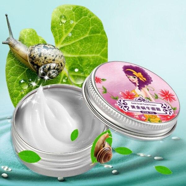 Natureza Caracol Creme Hidratante Anti-Aging Creme Clareador Para Face Care Acne Anti Rugas Superfine Cuidados Com A Pele Anti-rugas
