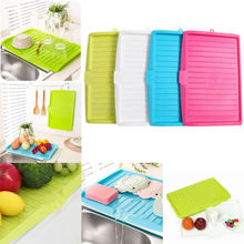 Kitchen Storage Dish Cup Drying Rack Holder Organizer Drainer Dryer Tray Tableware Water Drainning Tool
