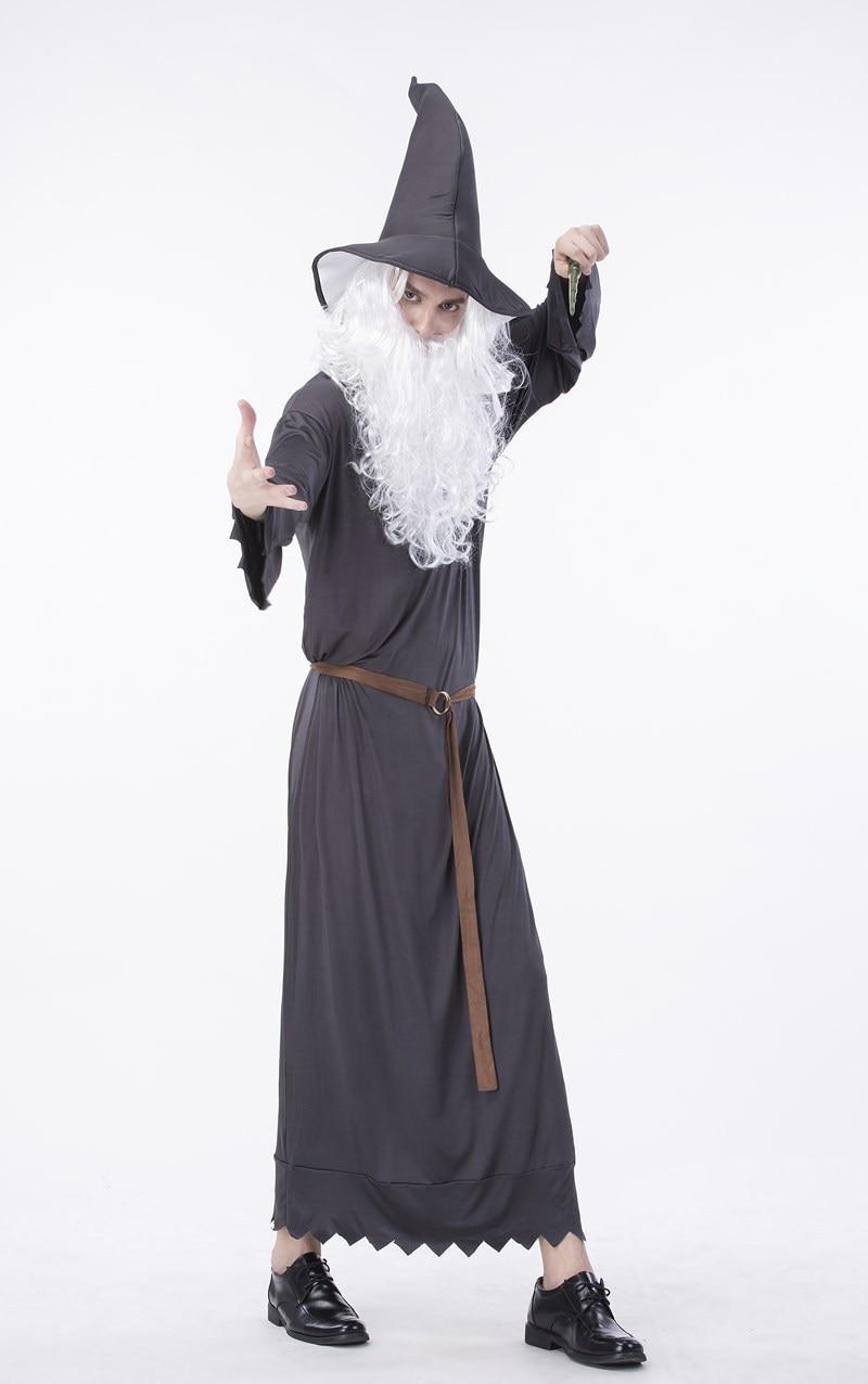 hot halloween costumes adult gothic wizard costume religious men