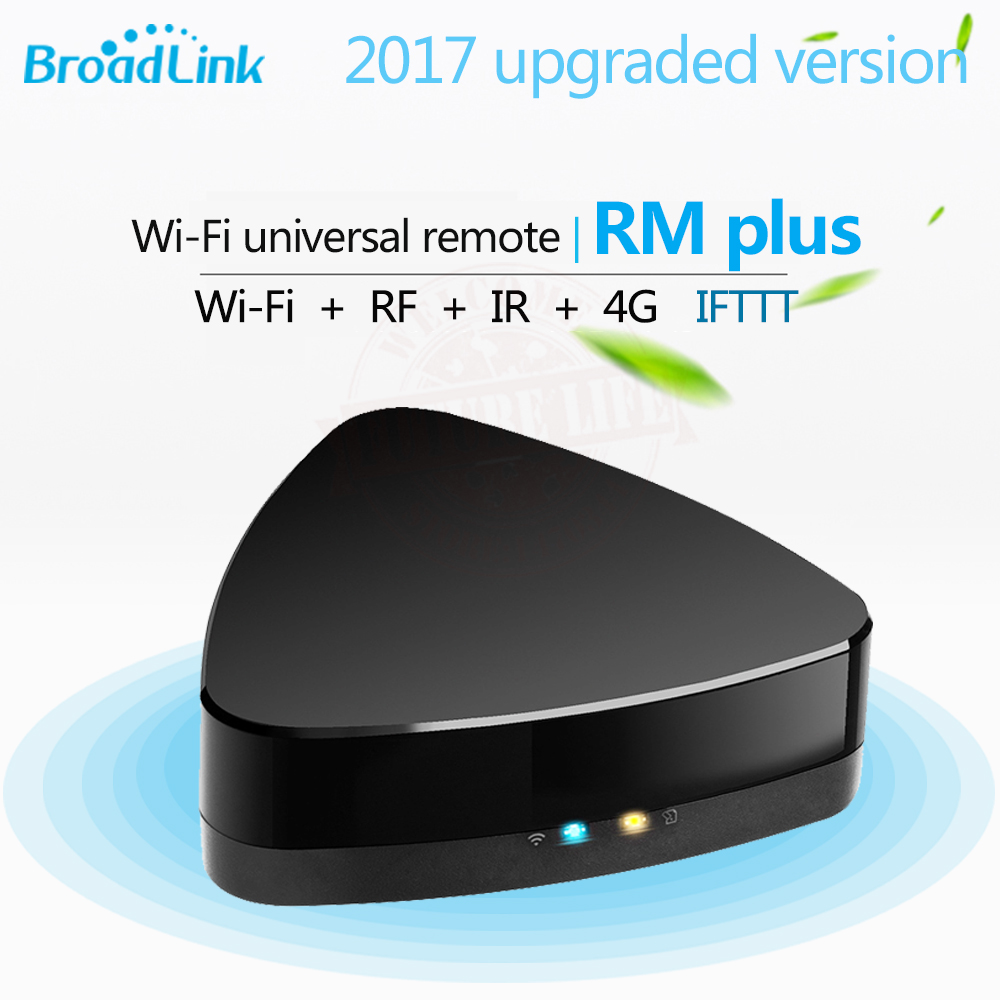 2017 New Broadlink RM plus WiFi Universal Smart Remote Control RF+IR 433/315 Hmz for RF Projector Light Switch IR TV Set Top Box