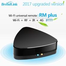 Новинка 2017 года Broadlink RM плюс Wi-Fi Универсальный Умные ПДУ rf + IR 433/315 hmz для РФ проектор выключатель света ИК ТВ Декодер каналов кабельного телевидения