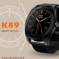2017 Newest Bluetooth K89 Smart Watch Health Sport Electronics Smartwatch For Iphone Android Wearable Devices Support