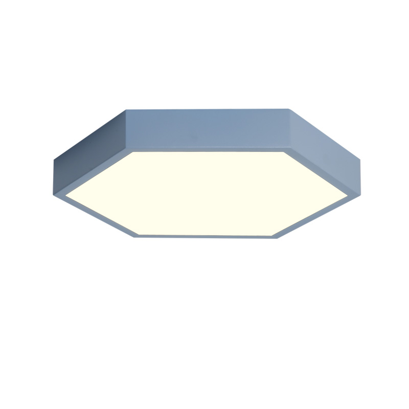 Smart modern simple Ultra thin 5CM LED ceiling lamp living room Ceiling Lights remote controller dimmer
